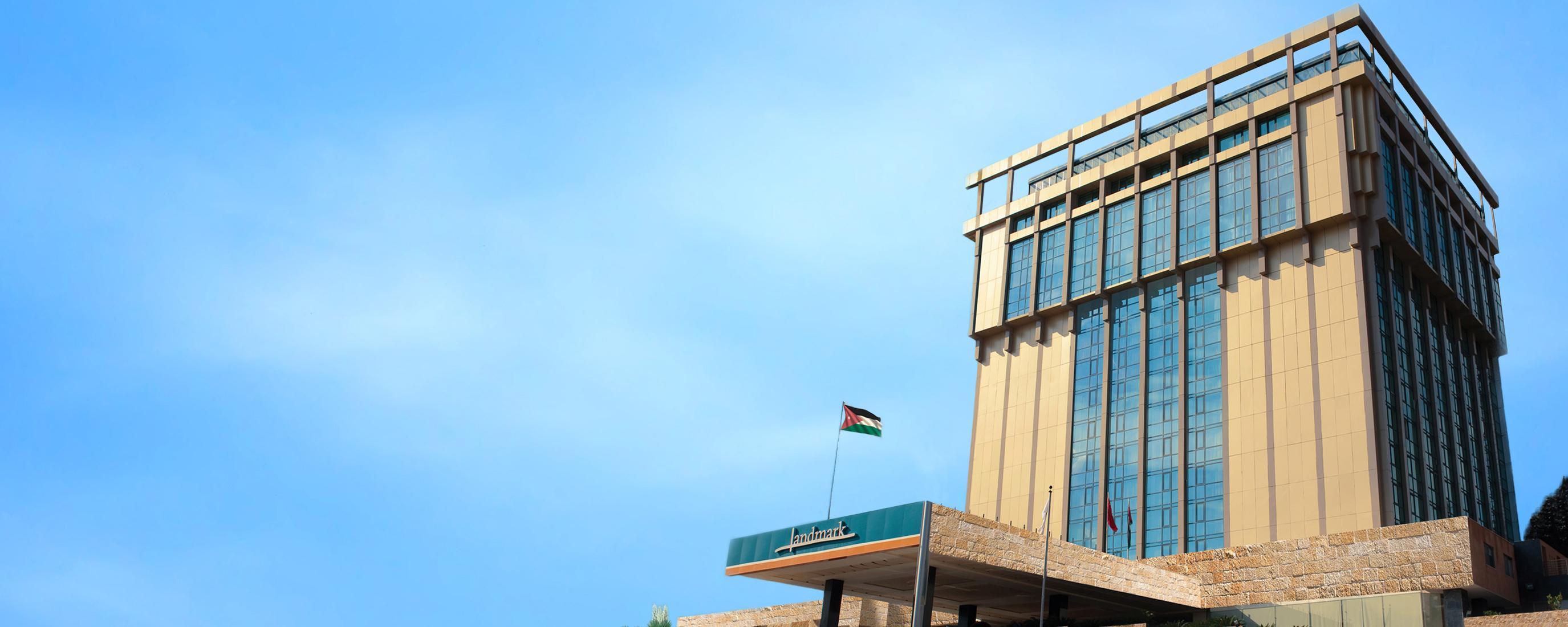 Die Videoüberwachungslösung von Dahua erhöhte die Sicherheit des Landmark Amman Hotel