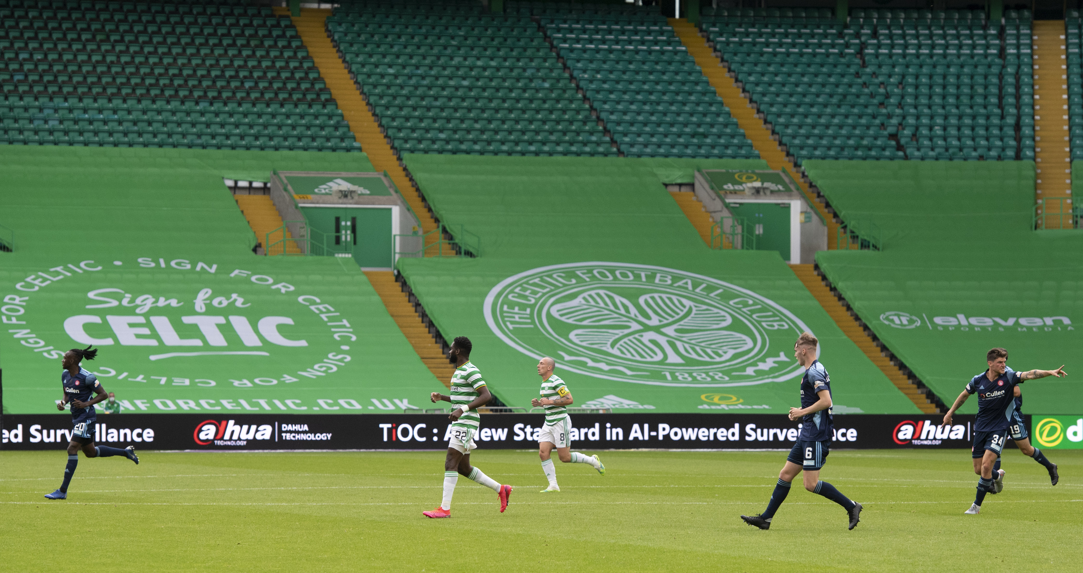 Celtic FC signs sponsorship deal with Dahua Technology