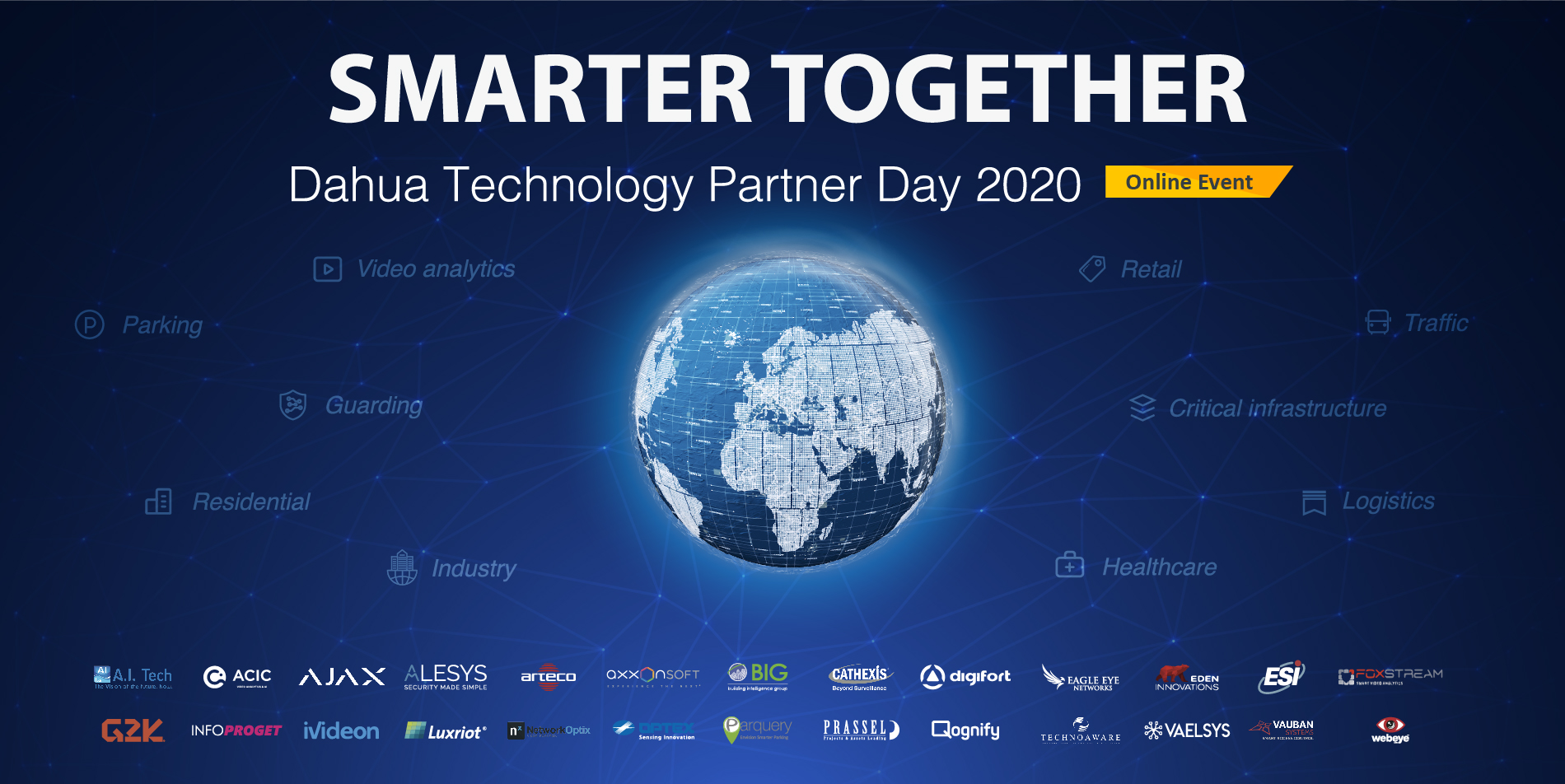 Dahua Technology to Host Online Partner Day 2020 with 26 Technology Partners